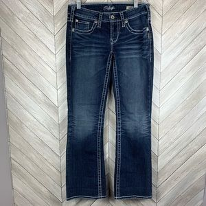 Silver jeans aiko bootcut jeans 28/31